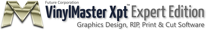 VinylMaster Xpt Sign Design, RIP, Print & Cut Software