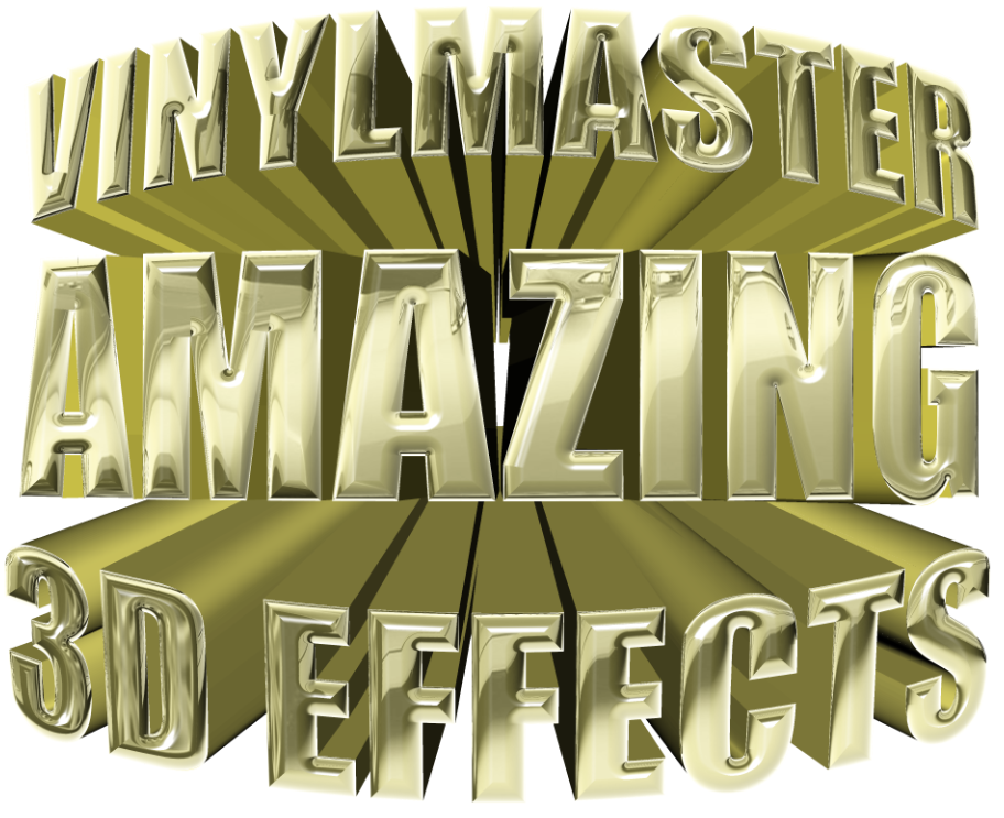 VinylMaster 3D Effects